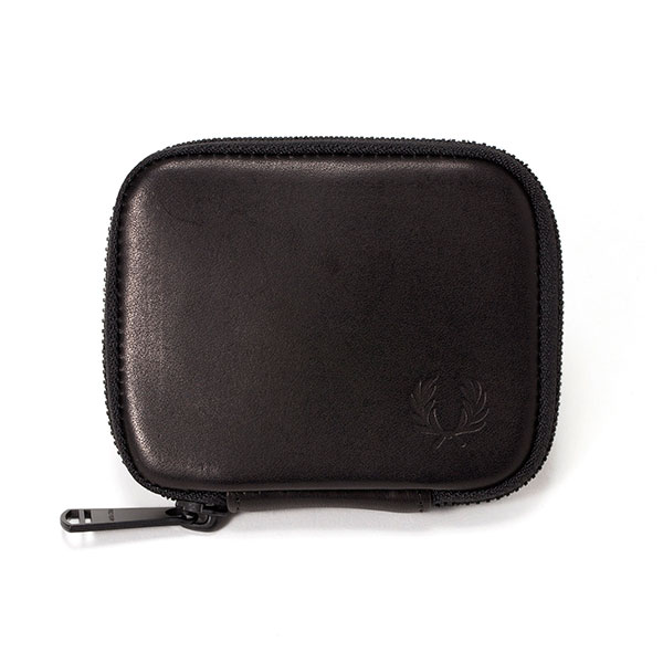 Zip Around Leather Key Case